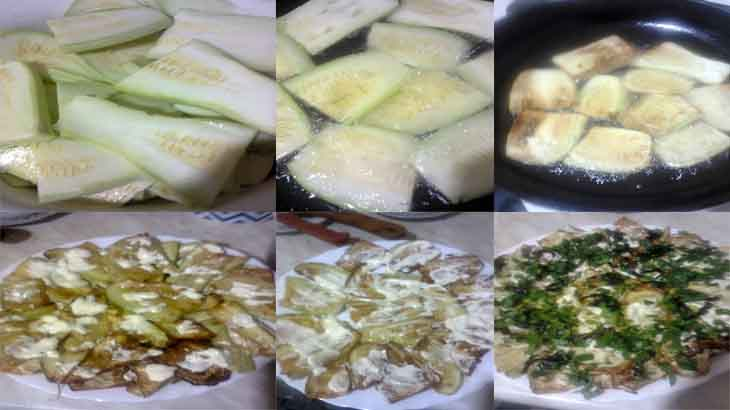 Приготовление кабачков