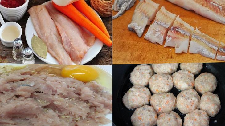 Как вкусно приготовить рыбные котлеты и тефтели