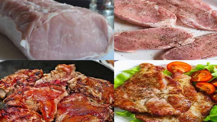 Эскалоп из свинины по-испански