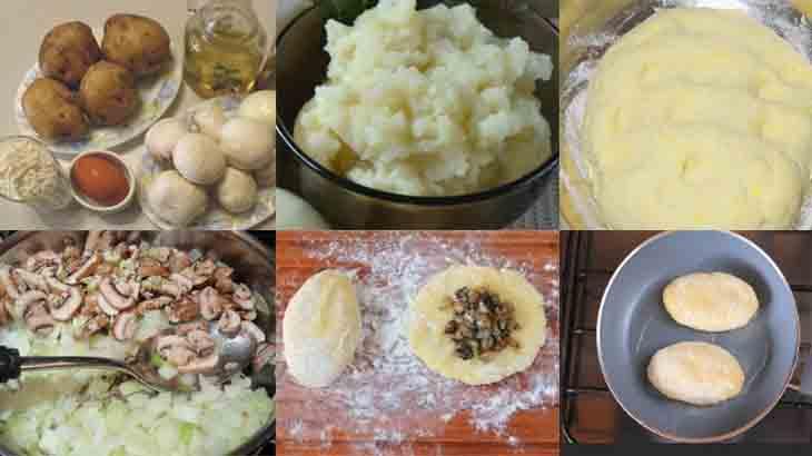 Приготовление картофельных зраз