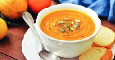 Тыквенный суп 3 вкусных рецепта