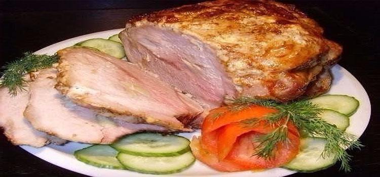 Приготовить буженину из свинины