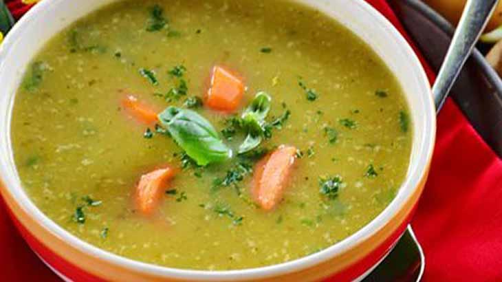 Суп с пшеном и говядиной
