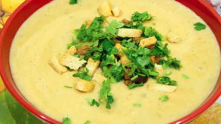Суп пюре с цветной капустой