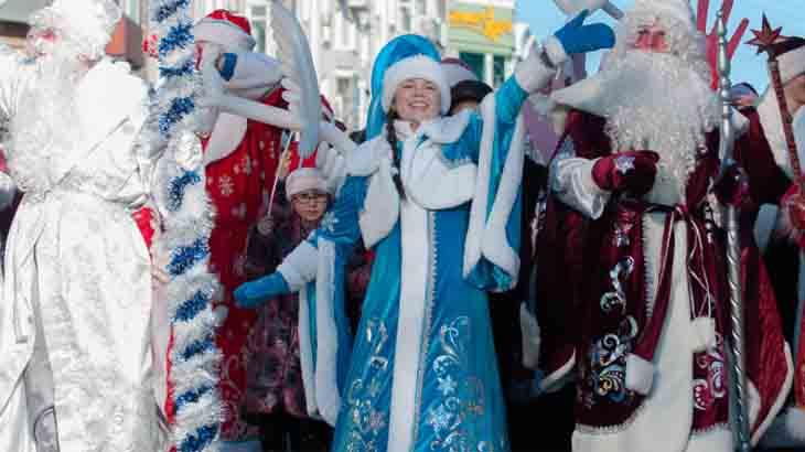 Новогодние традиции в Европе